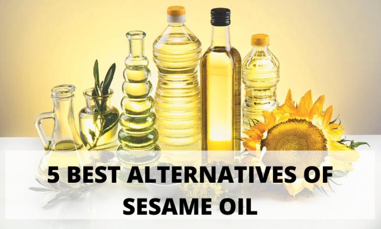 5 Sesame Oil Alternatives l Best Sesame Oil Alternatives